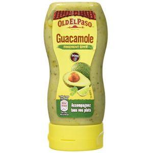Old el paso Sauce Guacamole finement épicé au piment doux 295 g