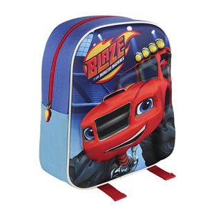 "Blaze 2100001563""Monster Machines"" 3D Effect Junior Backpack (31 cm)"