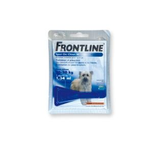 Frontline Spot On Chien 10-20 kg - Soin antiparasitaire