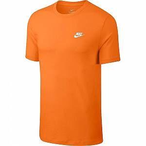 Nike T-Shirt Club, orange - Taille XL