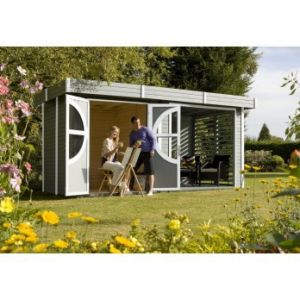 Relax - Abri de jardin en bois 9,56 m2