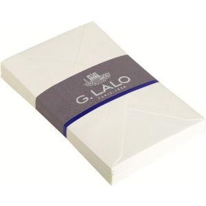 G. Lalo 25 enveloppes Vergé 11,4 x 16,2 cm