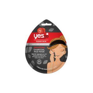 Yes to Tomatoes Detoxifying Charcoal Mud Mask - 1 Single Use - 10ml