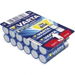 Varta 12 Piles Alcalines High Energy AA