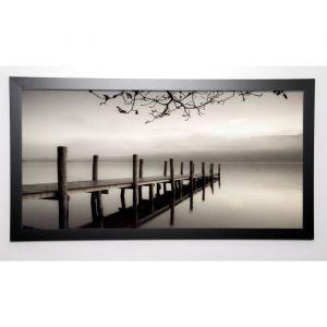 PHOTOGRAPHY COLLECTION Image encadrée Ponton II 57x107 cm Gris - Image Encadrée - Laquart - Gris