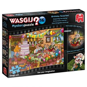 Jumbo Puzzle 1000 Pièces Wasgij Mystery 16 - Anniversaire Surprise !