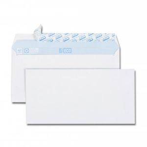 Gpv 521 - Enveloppe Green Eco 110x220, 80 g/m², coloris blanc - paquet de 60