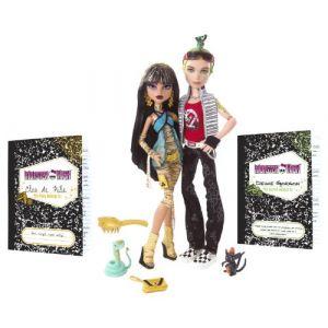 Mattel Monster High Deuce et Cléo