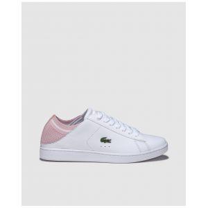 Lacoste Chaussures avec logo sur le côté Blanc - Taille 39,5