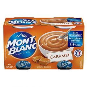 Mont Blanc Crème Dessert Caramel