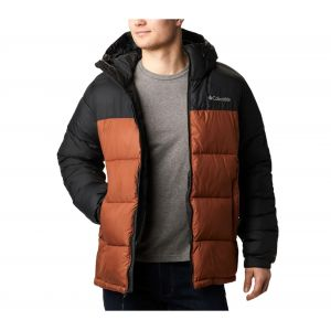 Columbia Pike Lake Hooded Jacket - Veste synthétique taille L, noir/brun