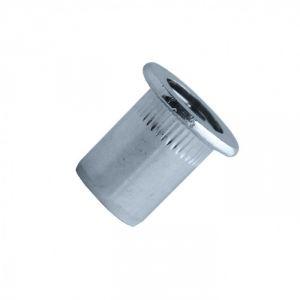 Scell-it EAD0630 - Ecrou aveugle lisse alu tête plate Ø6 x 13 mm