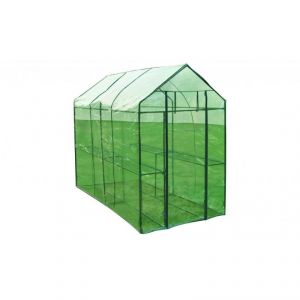 1602008 - Serre de jardin (120 x 240 x 190 cm)