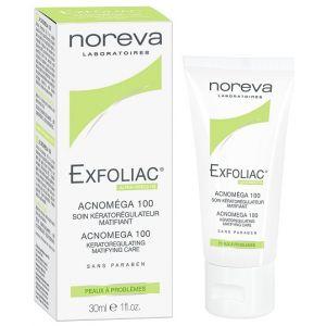 Noreva Exfoliac Acnoméga 100 - Soin kératorégulateur matifiant