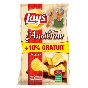 Lay's Chips à l'ancienne nature - Le paquet de 300g + 10% gratuit