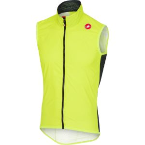 Castelli Pro Light - Veste sans manche Homme - jaune XXL Gilets