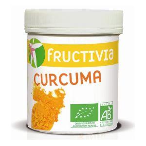 Fructivia Pot de Curcuma bio en poudre 150g
