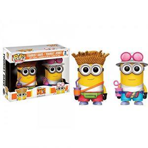 Funko Figurine Pop! Moi Moche Et Méchant 3 : pack 2 touristes Dave et Jerry