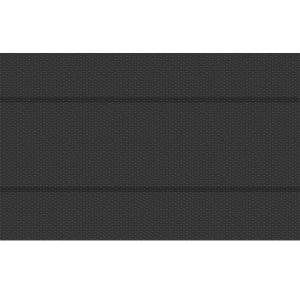 TecTake Bâche à bulles pour Piscine rectangulaire de protection extérieure en Plastique 8 m x 5 m Noir