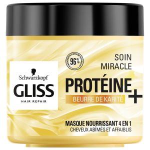 Schwarzkopf GLISS - Masque Capillaire Nutrition - Le Pot de - 400 ml