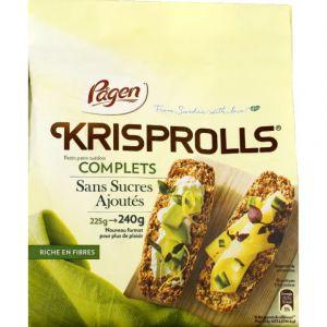 Krisprolls Kris sans sucre 240g