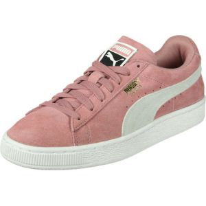 Puma Suede Classic, Sneakers Basses Femme, Marron (Cameo Brown-White), 41 EU