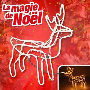 Outiror Eclairage decoratif renne