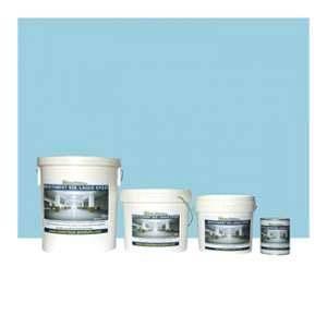 Matpro Peinture Laque Epoxy pour Garage Bleu Piscine - 10 Kg Bleu Piscine