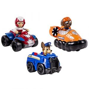 Spin Master 6024059 - Pack 3 Véhicules de Secours Pat' Patrouille - Chase, Zuma et Ryder