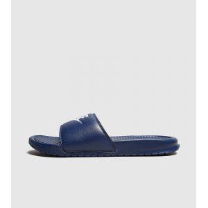 Nike Benassi, Chaussures de Plage et Piscine Homme, Bleu (Midnight Navy/Windchill), 42.5 EU