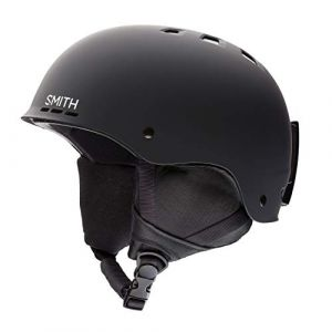 Smith Holt 2 E00681ZE95963 Casque de ski Noir Mat