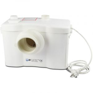 Trad4u WC Broyeur Sanitair pompe de relevage 600W Filtre + Sanialarm