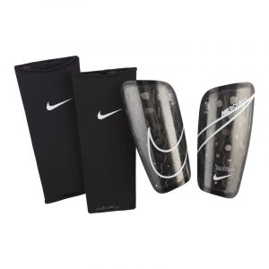 Nike NK MERC LT GRD protège-Tibias Mixte Adulte, Black/White, FR : L (Taille Fabricant : L)