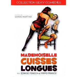 DVD - réservé Mademoiselle cuisses longues