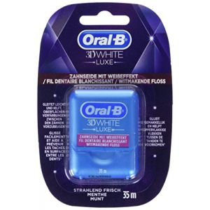 Oral-B 3D White Luxe - Fil dentaire blanchissant (35 m)
