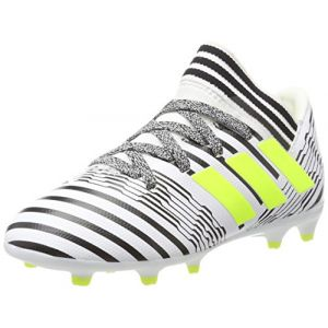 4e7b500dca30 Adidas Chaussures de foot enfant Nemeziz 17.3 Fg J Chaussures de football  Petit Garçon Blanc