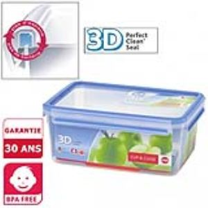 Emsa Boîte alimentaire hermétique Clip and Close 3D (3,7 L)