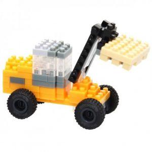 Brixies Nano Puzzle 3D - Chariot Elevateur JCB