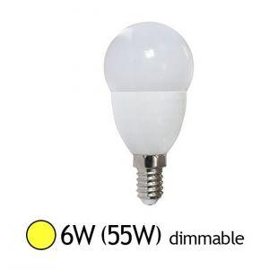Vision-El Ampoule Led 6W (55W) E14 Dimmable Blanc chaud
