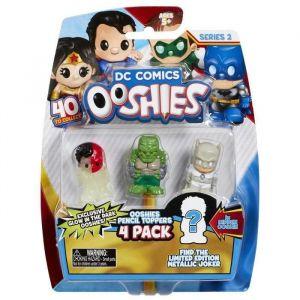 Vivid DC Comics Ooshies Pack de 4 - Mix 3