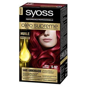 Syoss Oleo Supreme Rouge éclatant 5-92 - Coloration permanente à l'huile