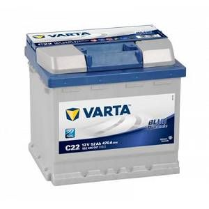 Varta Batterie C22 Blue Dynamic 52 Ah - 470 A