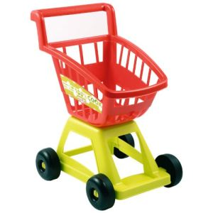 Ecoiffier Chariot de supermarché vide