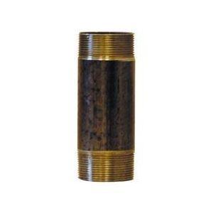 Afy 530012200 - Mamelon 530 tube soudé filetage conique longueur 200mm D12x17