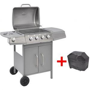 VidaXL 41903 - Barbecue grill à gaz 4+1 foyers