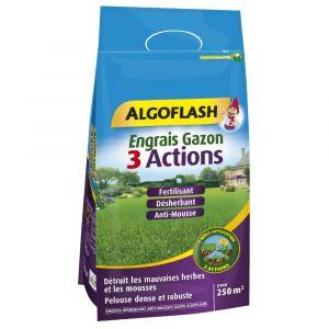 Algoflash Engrais gazon 3 actions 7,5 kg