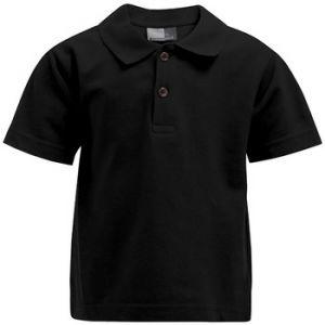 Promodoro Premium Polo Enfants, 140, noir