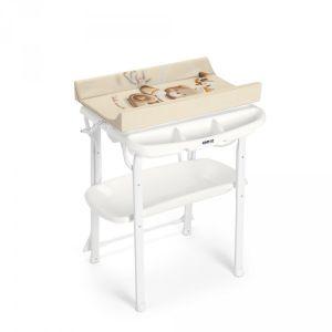Cam Table à langer avec baignoire aqua spa ourson