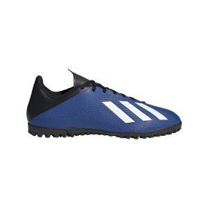 Adidas Chaussures de football sur terrain synthétique X 19.4 TF Bleus - Taille 44