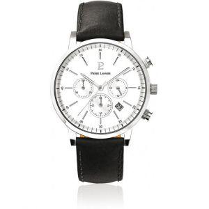 Pierre Lannier 206G1 - Montre pour homme avec bracelet en cuir